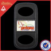 Printing logo Jamboree gift leather key chain