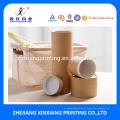 Verpackung Zylinder Boxen Großhandel Kraftpapier Tube Boxen