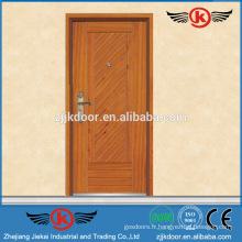 JK-A9037 Conception de placage de porte de salle blindée forte en bois