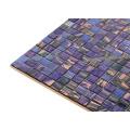 China fábrica roxo misturado quente - derretimento da telha de mosaico barato telha de assoalho