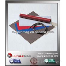 Folha magnética de plástico e fita magnética