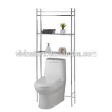 Sobre el inodoro Estante Storage \ Elegance Chrome Material del baño Self \ Space Saving Self para el baño