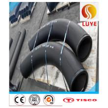 Cotovelo de aço carbono Sch40 Materiais bons 304, 316, 310S, 304L