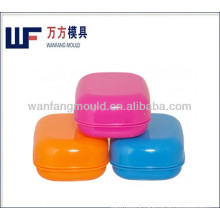 injection molds for plastic round shape soap box