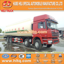 bulk cement vehicle SHACMAN F3000 8x4 40M3 340hp Weichai power cheap and fine factory direct