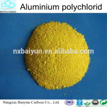 pac de polyaluminium pour l'industrie de traitement de l'eau