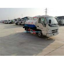 Forland 2.5CBM caminhão aspirador de sucção