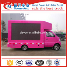 HOT china digital mobile advertising billboard truck for sale