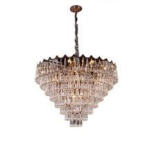 Lighting Big Luxury Metal Decoration Glass Lamp Modern Golden Led Chandelier & Pendant Light