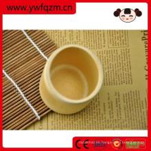 taza de té promocional china de la fibra de bambú