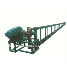 Deformierte Stahlbandkettenziehmaschine