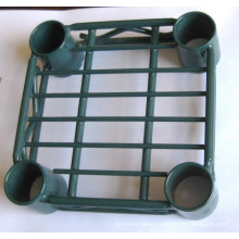 NSF Green Epoxy Coated Adjustable Heavy Duty Metal Wire Shelf