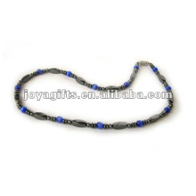 Magnetic Hematite Cat's Eye beaded Necklace