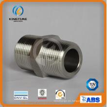 Boquilla roscada de la entrerrosca del tubo forjado de acero inoxidable (KT0411)