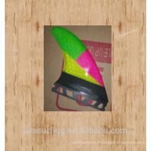2016 triple couleur avec demi-carbone future base G5 et AM2 palmes pour surfer