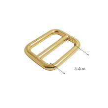High Quality Handbag Buckle Factory Gold Customized Metal Buckle
