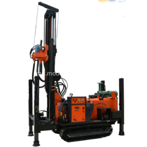 200m Depth Crawler Hydraulic Well Drilling Rig