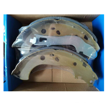 DSS high quality car spare parts assemble brake lining drum rear semi-metallic brake shoe for Dodge/Fiat