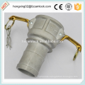 Camlock aluminum type C , cam lock fittings, quick coupling