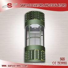 Transparente Glas Sanyo Panorama Aufzug