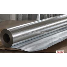 Doble hoja de aluminio lateral, Double Side Foil-Scrim-Kraft Frente, aluminio Material de aislamiento de hoja