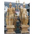 Резные мраморные статуи камень резьба скульптуры сада мебель для украшения (SY-X1079)