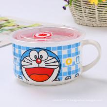 Wholesale frais-garder les bols en céramique de style dessin animé