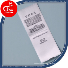 Cheap Price Satin Wash Polyster Label/Printed Label
