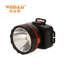 Melhor Qualidade Única Cabeça Luz, Recarregável LED Head Lamp