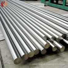 barras redondas canuladas titanium