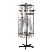 Funktionelle Freie Standing Retail Store Heavy Duty Hanging Items Großhandel Rotierende Display Stand Turntable