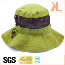 Polyester Vérifiez Taslon / Mesh Leisure Fishman Hat