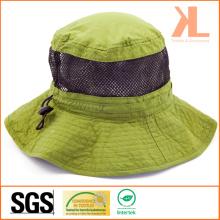 Полиэстер Проверьте Taslon / Mesh Leisure Fishman Hat