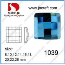 Круглые и квадратные большие плоские камни бусины