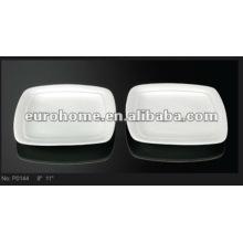 Weiße Serviergeschirr-eurohome P0144