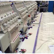 Machine de broderie informatisée de 6 têtes pour le prix de vente fait en Chine
