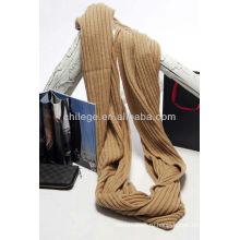 Чистый кашемир вязаный круг шарф