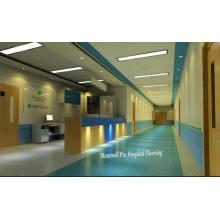 2017 vente chaude homogène / PVC médical et hôpital étage