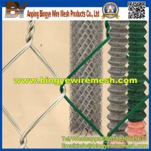 PVC beschichtete Kette Link Zaun für Verkauf Fabrik