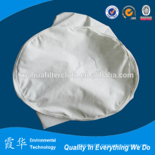 Vacuum belt and centrifugal liquid bag filter cloth