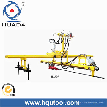 Rock Driller for Stone. Single Hammer, Vertical and Horizontal