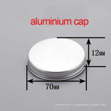 68/410 Cream Jar Круглая алюминиевая косметическая металлическая винт Крышка / крышка