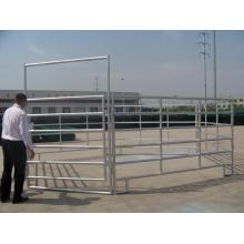 Hot mencelupkan Galvanis Metal Horse Fence Barriers kuda
