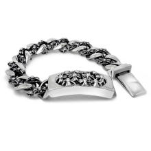 Punk & Rock Style Fashion ID Bracelets Body Titanium Jewelry Unisex