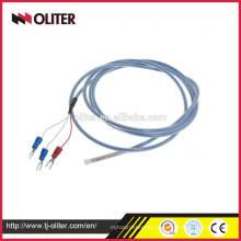 thermocouple pt500 de sonde de température d'acier inoxydable rtd avec le tube de protection