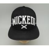 2017 black snapback leather 3d embroidery logo flexfit baseball cap