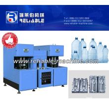 Máquina sopladora de botellas semi automática con control PLC