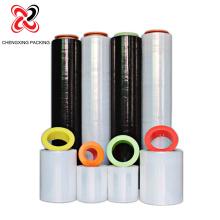 Rolos de plástico de polietileno preto