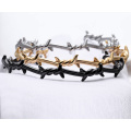 Mens PVD Disepuh Twinde Thorn Bramble Cuff Bangle