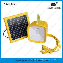 La mejor linterna de la luz de la energía del poder solar al aire libre de la emergencia que acampa con radio MP3
